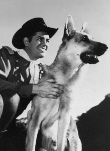 Rin Tin Tin Schäferhund - James Brown 1955