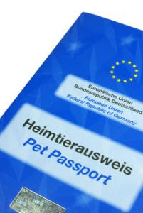 Schäferhund EU Heimtierausweis für den Urlaub